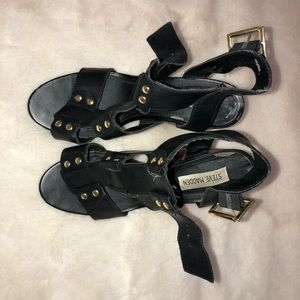Steve Madden chunky Heel shoes